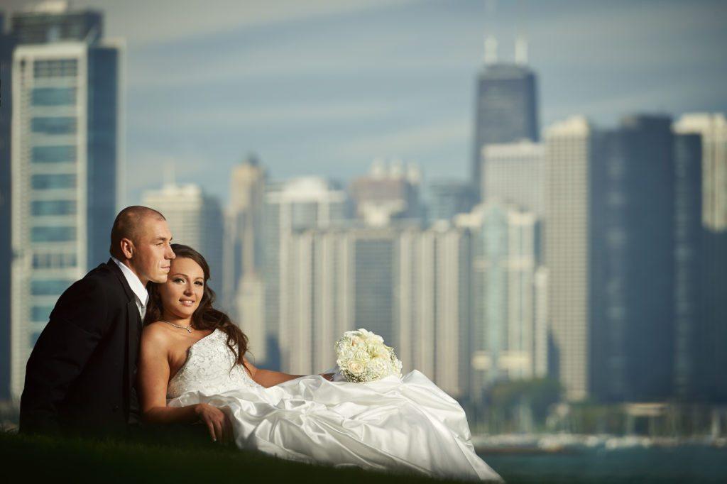 chicago wedding centerpieces