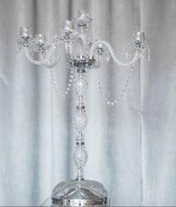 crystal candelabra rentals in chicago