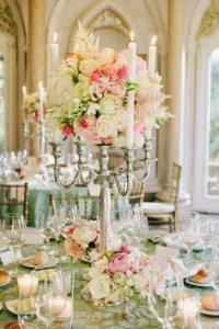 Candelabra Floral Design
