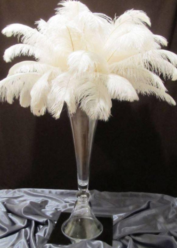 feather centerpiece rentals in chicago