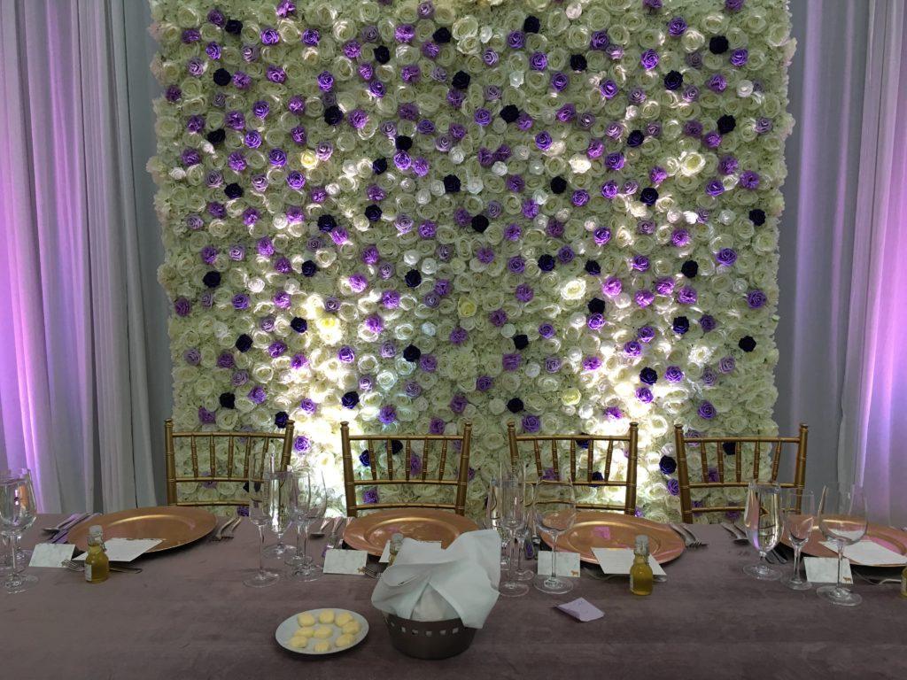flower wall rentals in chicago